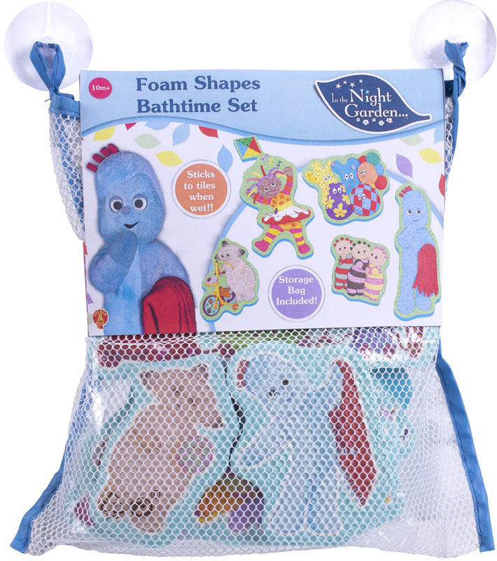 Wholesalers of In The Night Garden Foam Bath Time Set toys