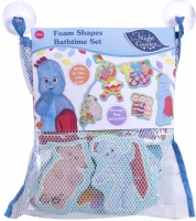 Wholesalers of In The Night Garden Foam Bath Time Set toys Tmb
