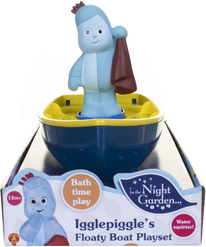 Wholesalers of In The Night Garden Igglepiggles Floaty Boat Playset toys