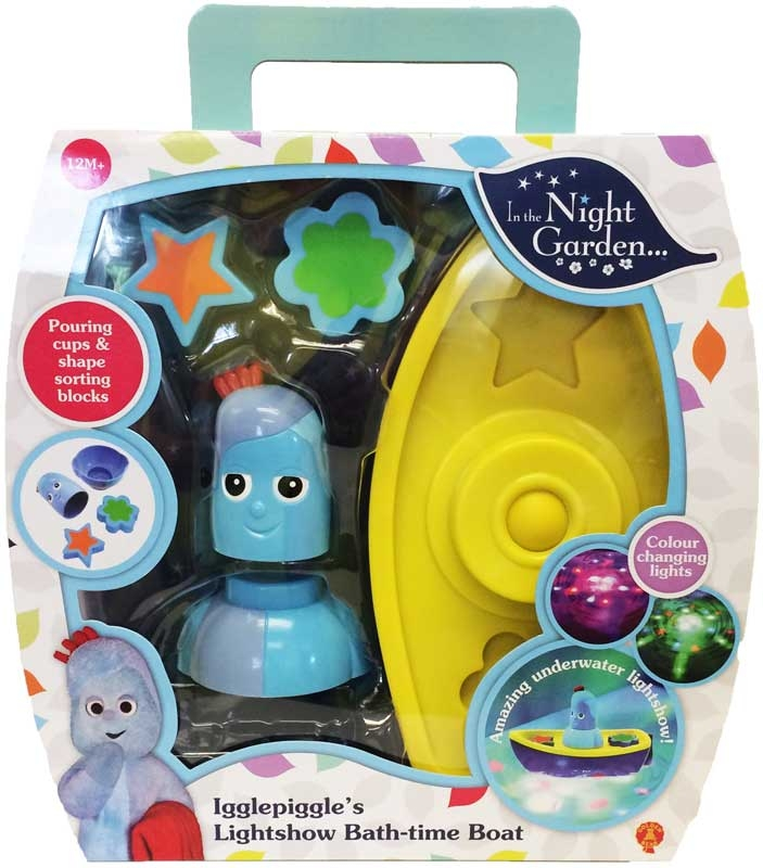 Wholesalers of In The Night Garden Igglepiggles Lightshow Bath-time Boat toys