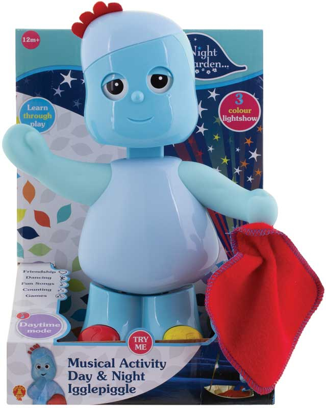 Wholesalers of In The Night Garden Musical Activity Day And Night Igglepigg toys