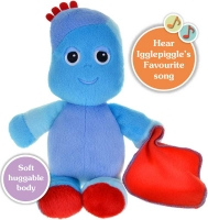 Wholesalers of In The Night Garden Snuggly Singing Igglepiggle toys image