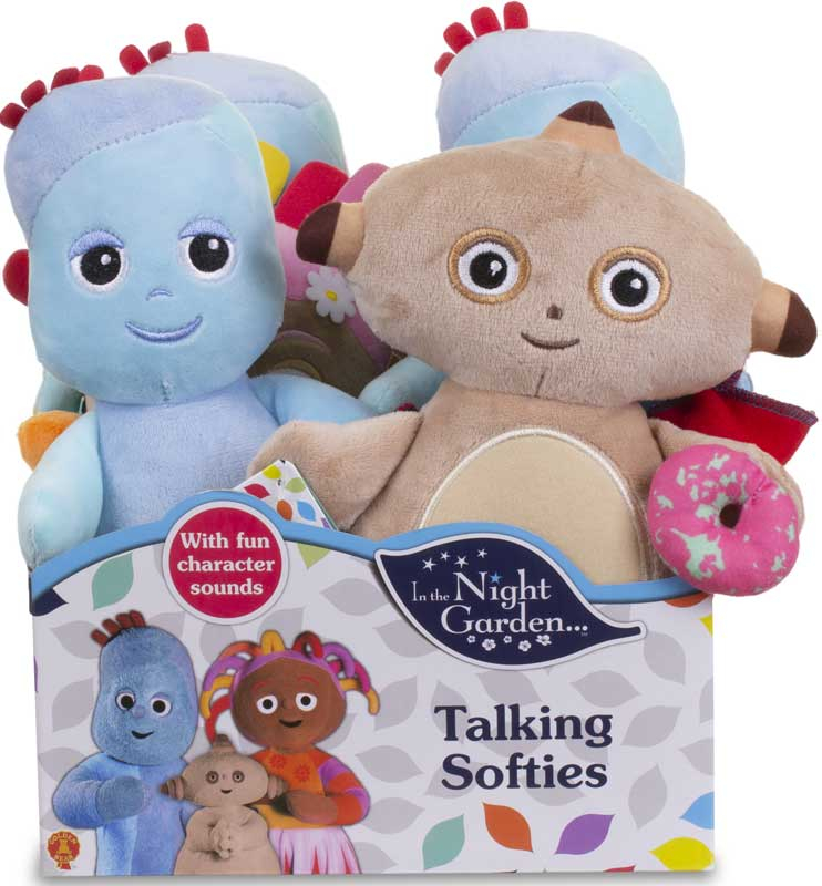 Wholesalers of In The Night Garden Talking Softies Asst toys