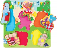 Wholesalers of In The Night Garden Wooden Peg Puzzle toys image 2