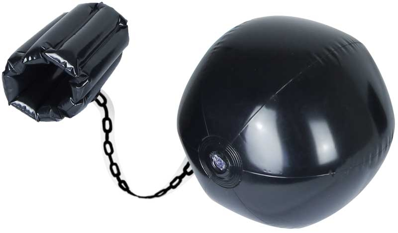 Wholesalers of Inflatable Ball 30cm And Chain 60cm toys