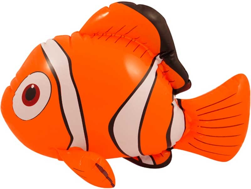 Wholesalers of Inflatable Clown Fish 43cm toys
