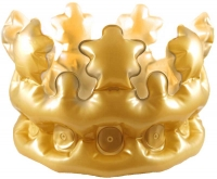 Wholesalers of Inflatable Gold Crown 30 Cm Child toys image