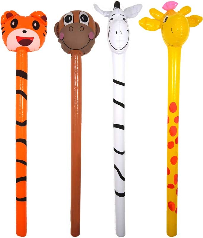 Wholesalers of Inflatable Jungle Stick 118cm Asst toys