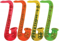 Wholesalers of Inflatable Saxophone 75cm Asst toys image