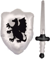 Wholesalers of Inflatable Shield 48cm And Sword 62cm toys image