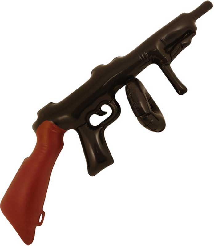 Wholesalers of Inflatable Tommy Gun 80cm toys