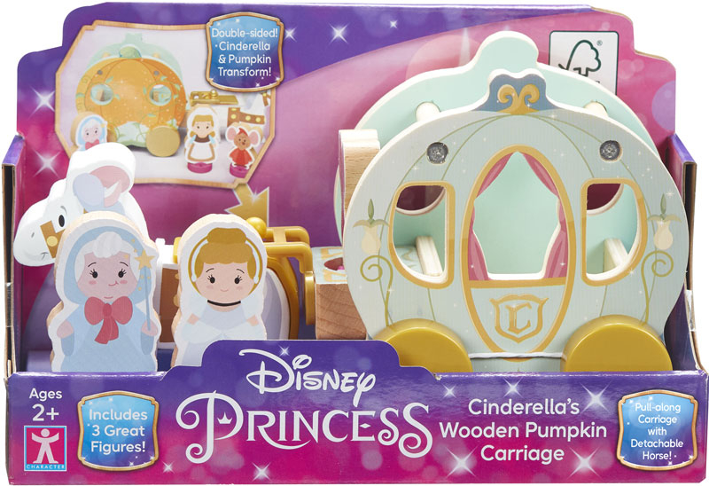 Wholesalers of Isney Princess Wooden Cinderellas Pumpkin Carriage toys