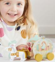 Wholesalers of Disney Princess Wooden Cinderellas Pumpkin Carriage toys image 4