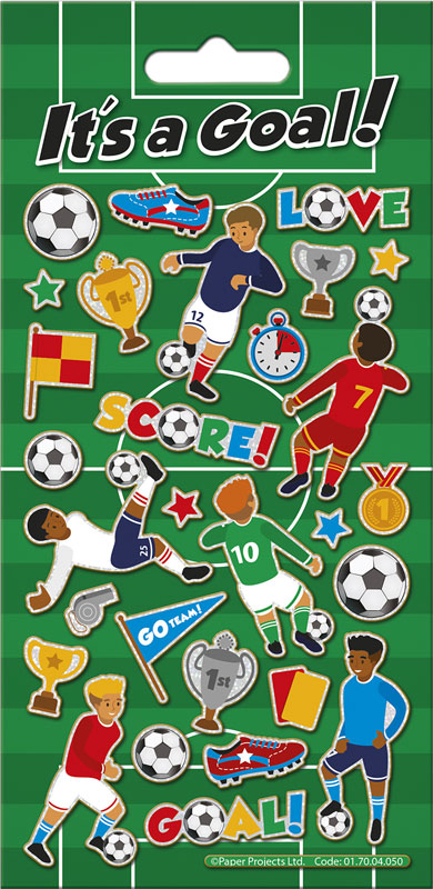 Wholesalers of Its A Goal Stickers toys