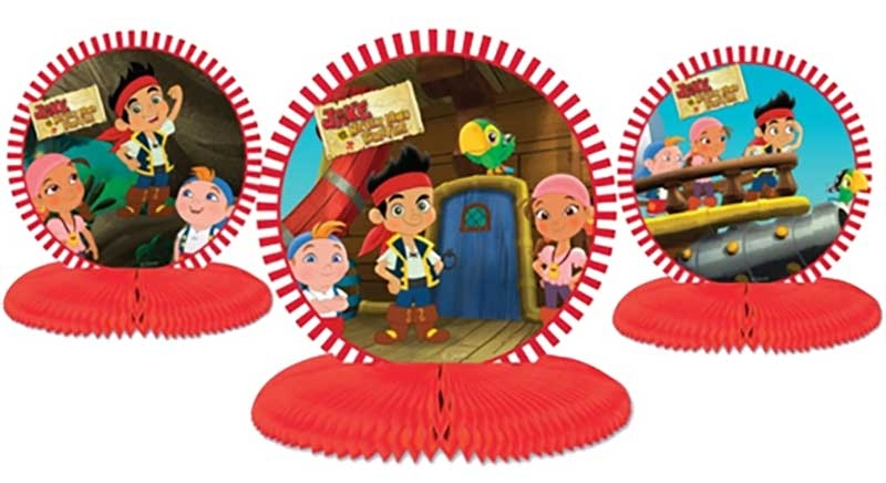 Wholesalers of Jake And The Neverland Pirates Table Centrepiece toys