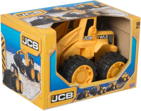 Wholesalers of Jcb 7 Inch Wheeled Loader toys image