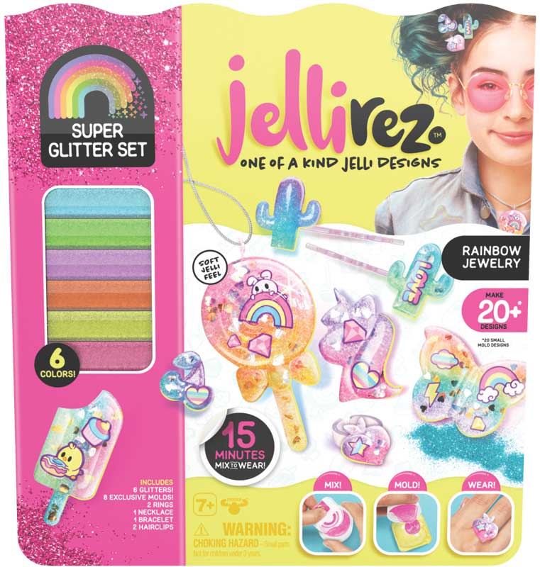 Wholesalers of Jelli Rez Super Glitter Set toys