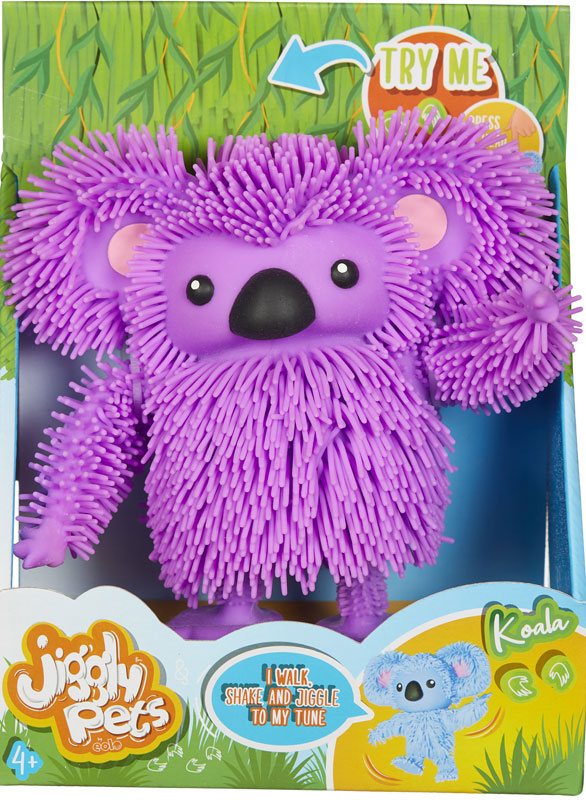 Wholesalers of Jiggly Pets Koala - Purple toys