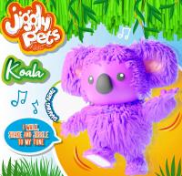 Wholesalers of Jiggly Pets Koala - Purple toys image 3