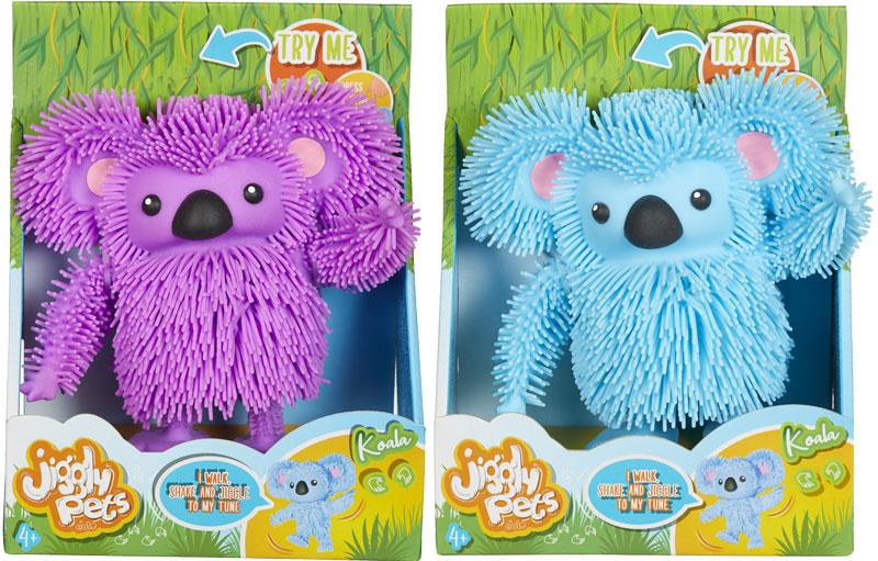 Wholesalers of Jiggly Pets Koala Asst toys