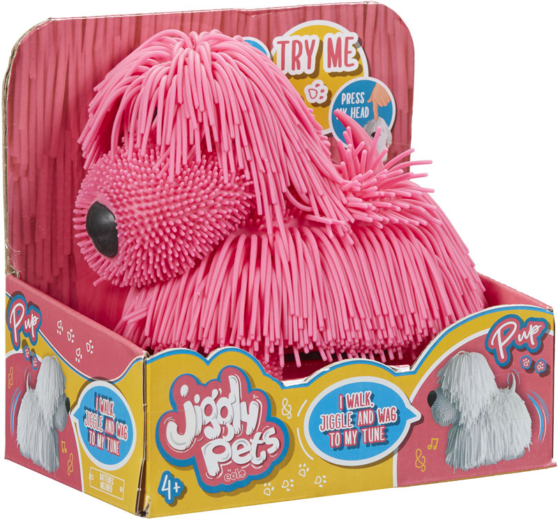 Wholesalers of Jiggly Pets Pup - Pink toys