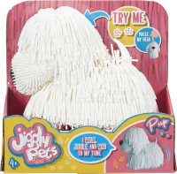 Wholesalers of Jiggly Pets Pup - White toys image