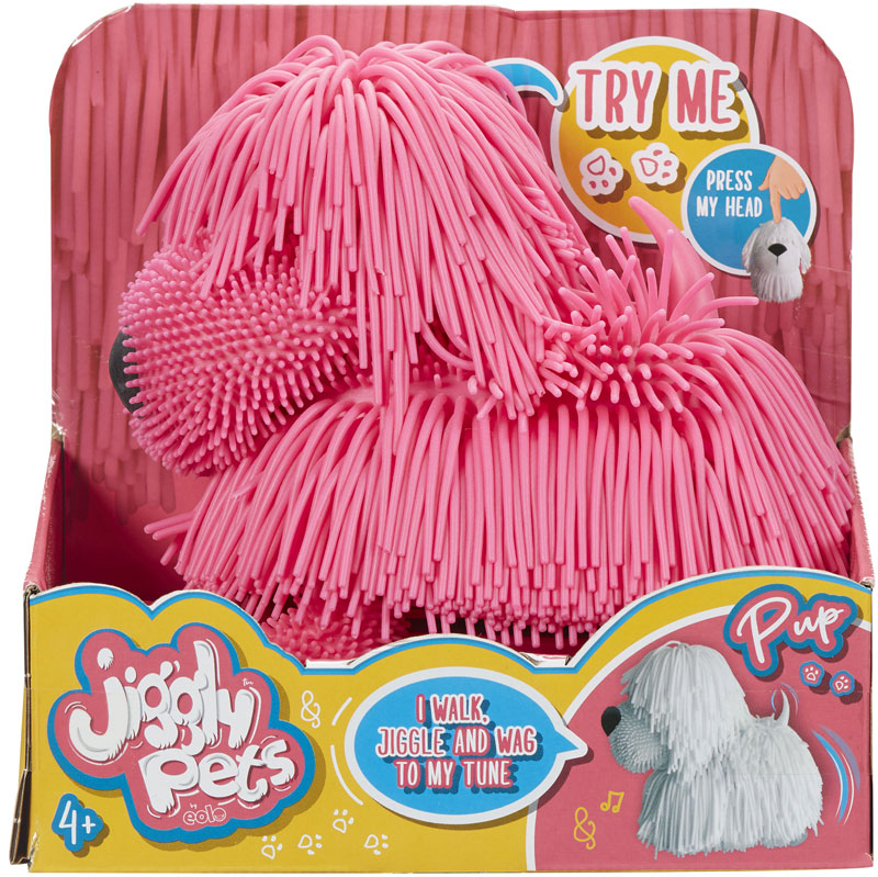 Wholesalers of Jiggly Pets Pup toys