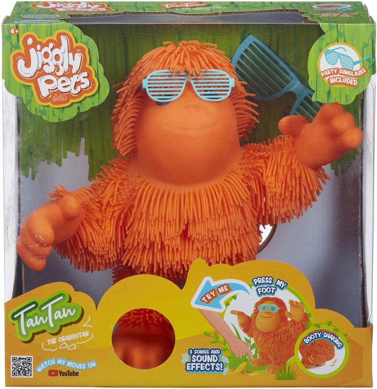 Wholesalers of Jiggly Pets Tan Tan The Orangutan toys