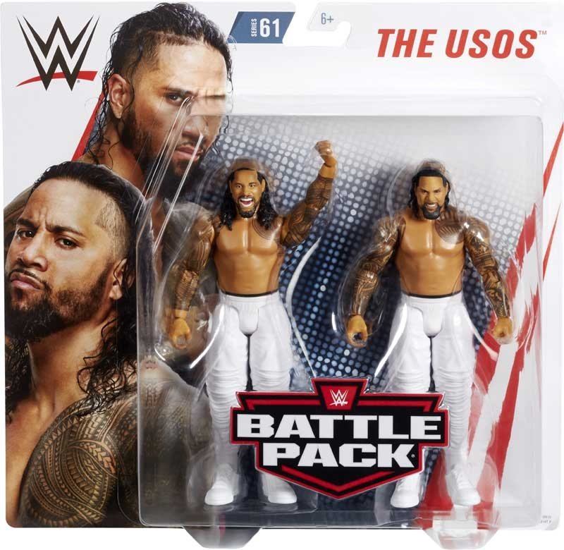 Wholesalers of Jimmy Uso & Jey Uso toys