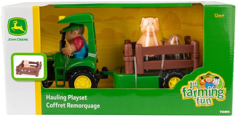 Wholesalers of John Deere 1st Farming Fun Hauling Set toys