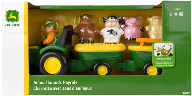 Wholesalers of John Deere Animal Sounds Hayride toys