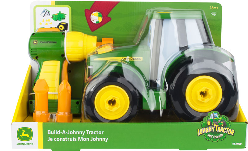 Wholesalers of John Deere Build A Johnny Tractor toys