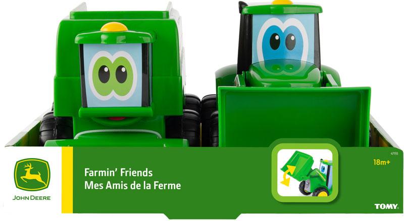 Wholesalers of John Deere Farmin Friends - Johnny And Corey Combine toys