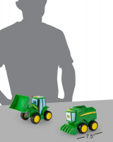 Wholesalers of John Deere Farmin Friends - Johnny And Corey Combine toys image 4