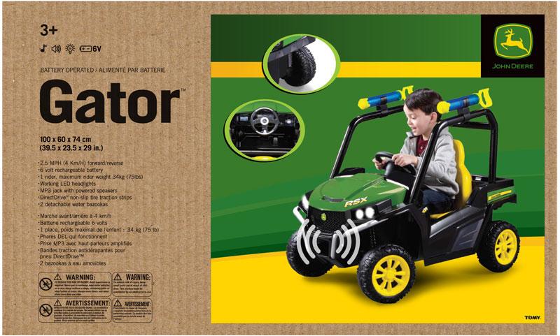 Wholesalers of John Deere John Deere Ride On Gator toys