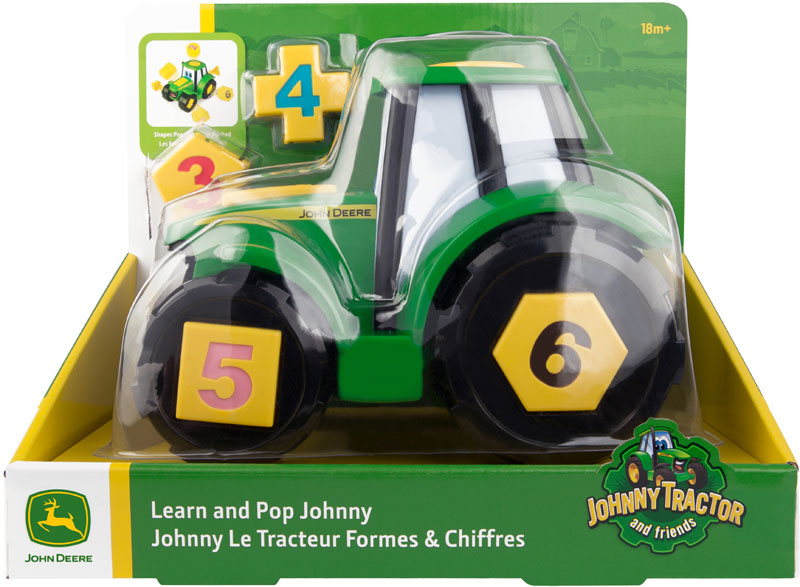 Wholesalers of John Deere Johnny Tractor Learn And Pop toys