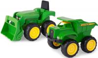 Wholesalers of John Deere Mini Sandbox Tractor And Dump Truck Set toys image 2