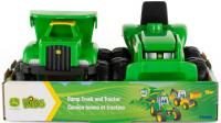 Wholesalers of John Deere Mini Sandbox Tractor And Dump Truck Set toys image