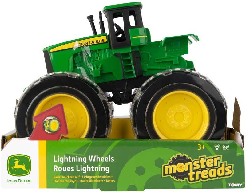Wholesalers of John Deere Monster Trds Light Wheels toys