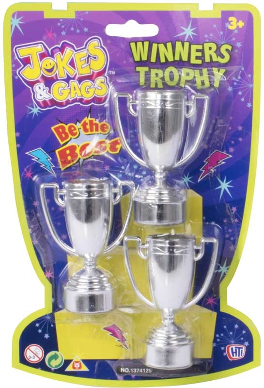 Wholesalers of Jokes And Gags Winners Trophies toys