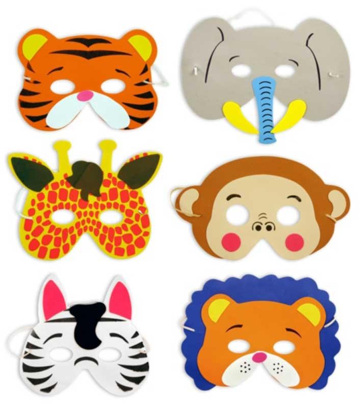 Wholesalers of Jungle Animal Masks toys