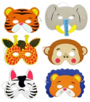 Wholesalers of Jungle Animal Masks toys image