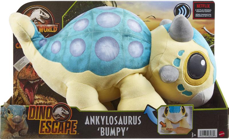 Wholesalers of Jurassic World Ankylosaurus Bumpy Plush toys