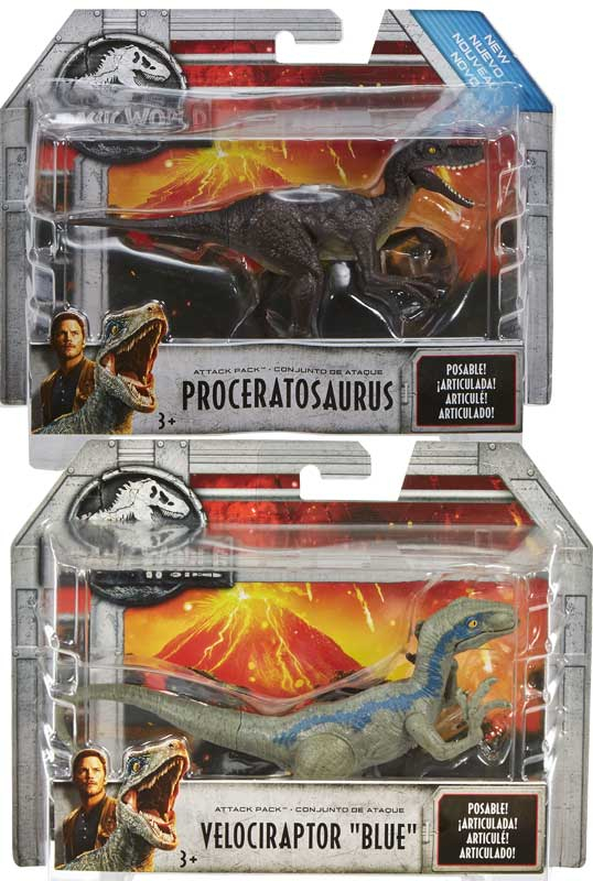Wholesalers of Jurassic World Attack Pack Asst toys