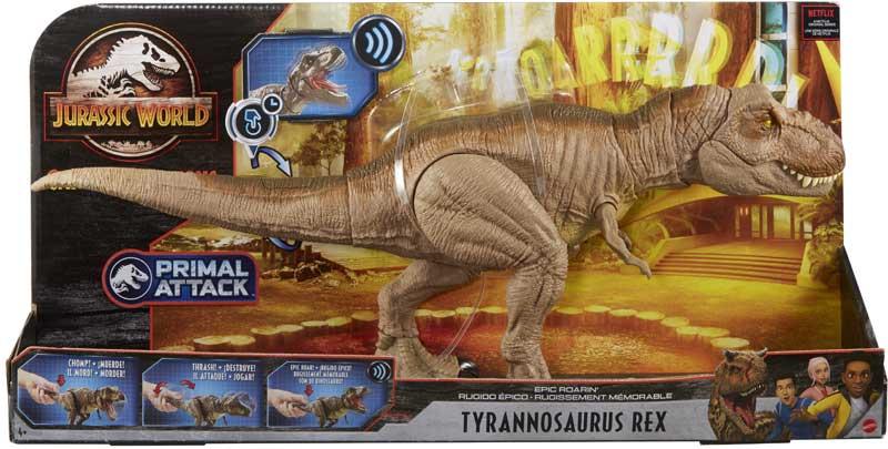 Wholesalers of Jurassic World Epic Roar Tyrannosaurus Rex toys