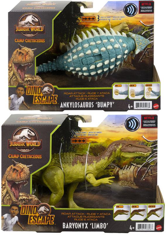 Wholesalers of Jurassic World Roar Attack Asst toys