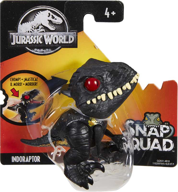 Wholesalers of Jurassic World Snap Squad Asst toys