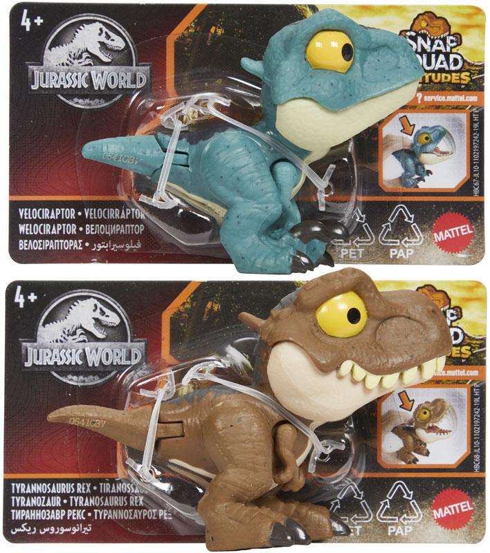 Wholesalers of Jurassic World Snap Squad Attitudes Assortment toys