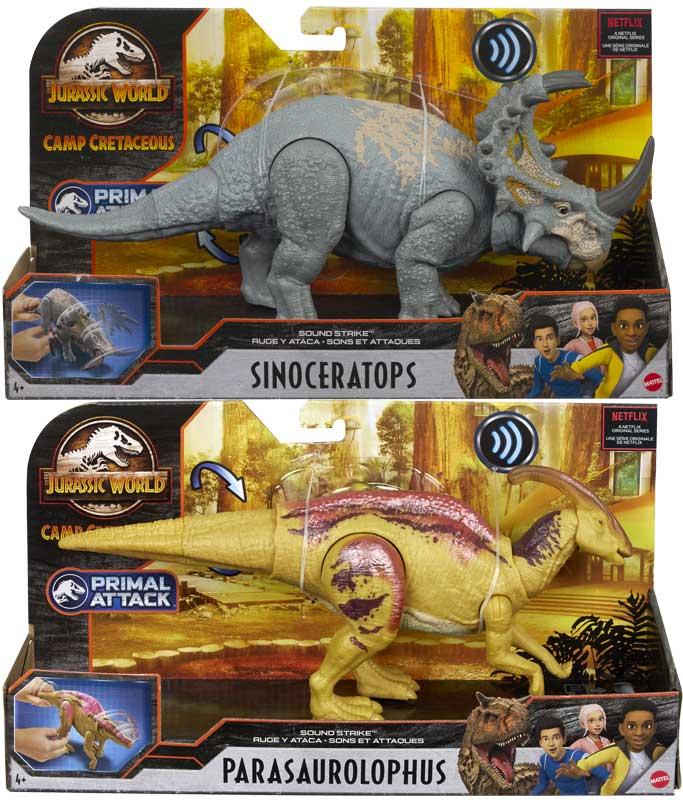 Wholesalers of Jurassic World Sound Strike Asst toys