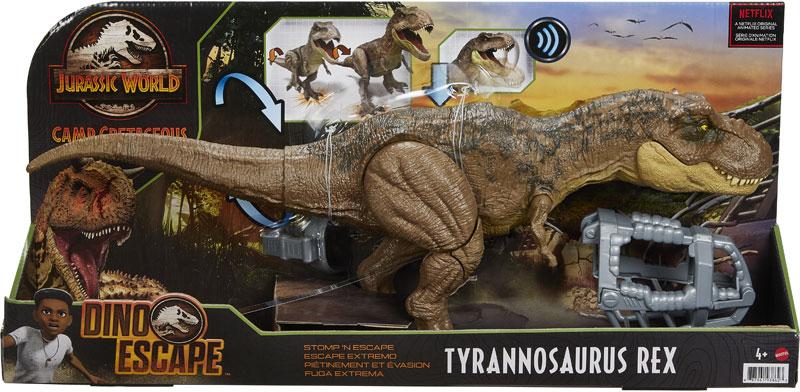 Wholesalers of Jurassic World Stomp N Escape Tyrannosaurus Rex toys